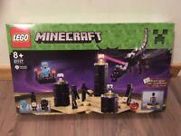 Brand new. Lego minecraft - The Ender Dragon.