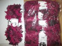 5 x 100g balls of Wendy Nina PINK Scarf Yarn / Wool (Each ball makes 1 Scarf) - £25