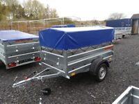 New Trailer (6 x 4 x 2,17) double broadside with cover 50 cm - £750 inc vat