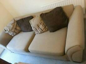 2 seater sofa and one matching arm chair