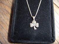 925 Silver Chain & Pendant