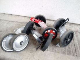 "(2506) STABILISERS FOR 16"" KIDS BIKES BICYCLES TRAINING WHEELS PUKY TREK DECATHLON RALEIGH FALCON"