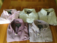 Set of Five Men's Abercrombie & Fitch Shirts (L and in muscle fit)