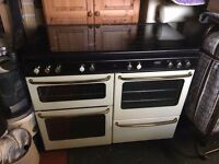 Stoves NewHome Dual Fuel Range Cooker - Gas Hotplate & Electric Grill + Oven