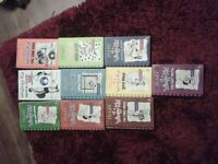 Diary of a Wimpy Kid by Jeff Kinney x 10 titles