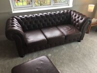 Chesterfield 3 piece suite