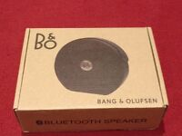 B&O Play by Bang and Olufsen Portable Bluetooth Speaker - Black USED