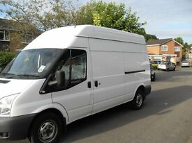 2010 2 owner ford transit t350 lwb hightop loads of history