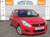Suzuki Swift SZ3 (£30.00 ROAD TAX) FREE MOT'S AS LONG AS YOU OWN THE CAR!!! (red) 2013