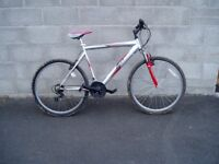 """Mountain Bike,21.5"""" Frame,26"""" Alloy Wheels,F/Suspension, FULLY SERVICED."""