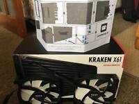 Kraken x61 CPU cooler AIO liquid cooled cpu cooler