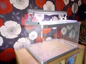 55L Fish Tank, Light, Filter, Pump, Accessories
