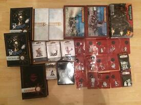 WARHAMMER BIG BUNDLE OLD METAL BLISTERS AND SOME NEW ITEMS