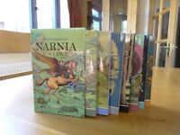 """Complete Box Set Of """"The Chronicles Of NARNIA"""" by C. S. LEWIS"""