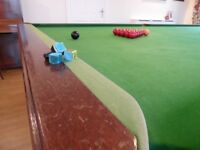 Snooker Table 12' x 6' Full Size.