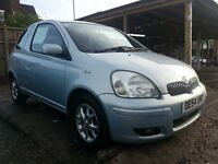 2004 (54) Toyota yaris, one year mot , excellent condition
