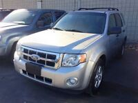 2011 Ford Escape XLT  $61.28 A WEEK + TAX OAC - BAD CREDIT APPRO