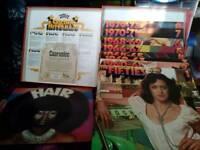 Box set of LP's