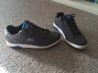 Lacoste size 6 men's trainers