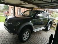 "Mitsubishi L200 Warrior 4"" Lift Kit"