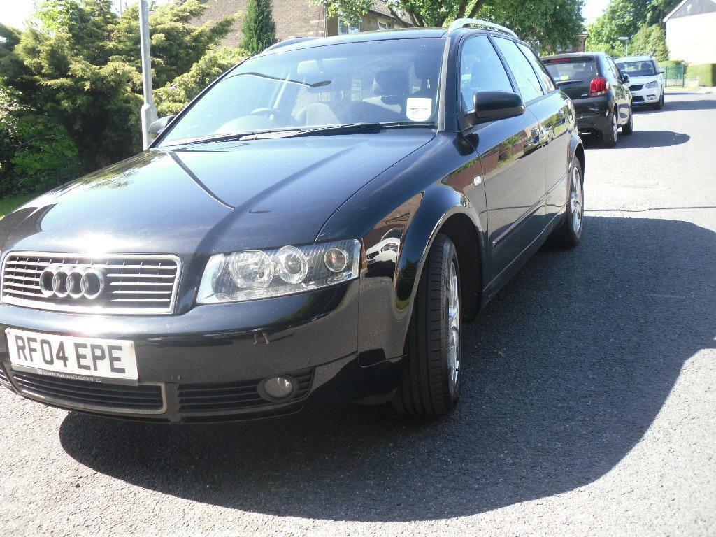 audi a4 1 9 tdi estate 2004 04 plate in gleaming black drives great in alwoodley west. Black Bedroom Furniture Sets. Home Design Ideas