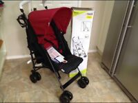 Brand new speed hauck pushchair in original box with instructions