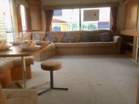 GREAT VALUE,2018 Site Fees Included,Holiday Home,Sited Caravan,200m From Beach,On Park Facilities