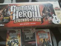 guitar hero and games