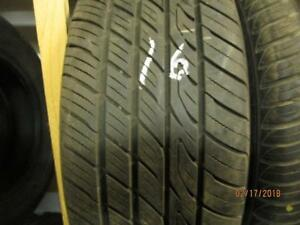 SINGLE ONLY USED TOYO 215/60R15 ALL SEASON TIRE