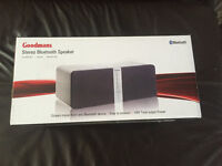 Goodmans Stereo Bluetooth Speaker/Dock (Brand new & sealed).