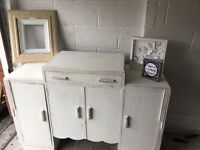 Antique Art Deco sideboard. Upcycled