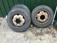 Iveco 7.5 tonne wheels and tyres