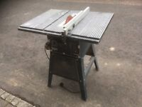 Table saw with stand for sale