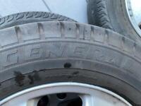 Transit Custom Alloy wheels & Tyres