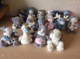34 Blue Nose Friends and Bag