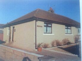 ****LARGE 2 BEDROOMED SEMI DETACHED HOUSE WITH GARDEN IN PORTESSIE, BUCKIE****