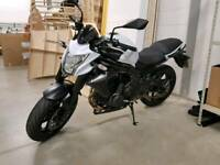Kawasaki ER6N 2014 - 650cc 650 motorbike ER6 ER6F long MOT amazing condition new chain and sprocket