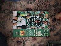 Various Celtic programmes - over 100 from champions to UEFA cups