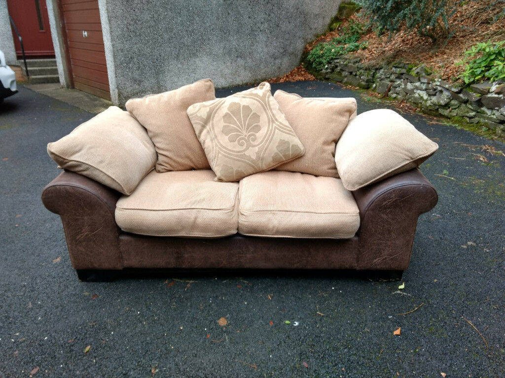 Brown sofa for sale
