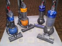 DYSON UPRIGHT, BALL, CYLINDER VACUUMS