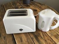 Caravan Low Wattage Kettle & Toaster