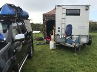 CAMPING / RACE TRAILER CONVERSION - IFOR WILLIAMS GD105