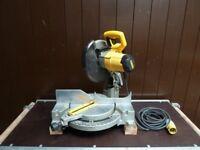 """DeWalt DW702 10"""" (250mm) Non Compound Mitre / Chop Saw - 110v"""