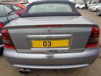 Breaking ----- Vauxhall Astra Coupe Convertible 1.8L Petrol 123BHP ---- 2003
