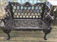 Cast iron bench (new )