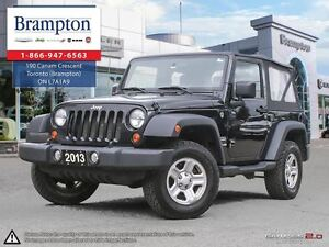 2013 Jeep Wrangler SPORT 4x4 | Trade-in | Manual | Tinted Glass