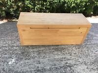 Ikea pine storage unit - 122 by 44 by 38cms