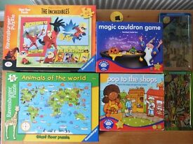(toys) Educational games and puzzles for approx 4 - 8 year olds