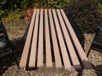 timber american oak bench slats