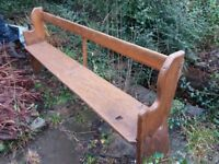 Rustic Old Pine Benches